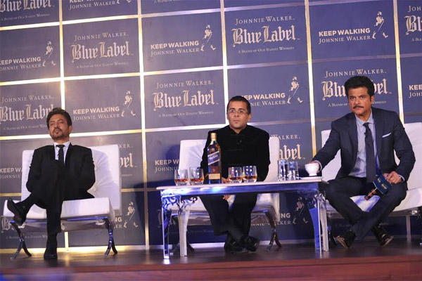 Johnnie Walker Blue Label Presents The Gentleman's Wager Screening Followed By A Panel Discussion With Anil,Irrfan And Chetan