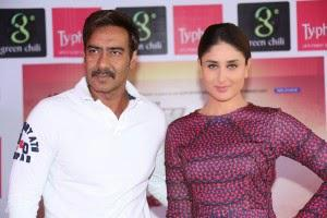 Ajay And Kareena Flew To Bangalore To Create The Buzz For Their Next Film Singham Returns