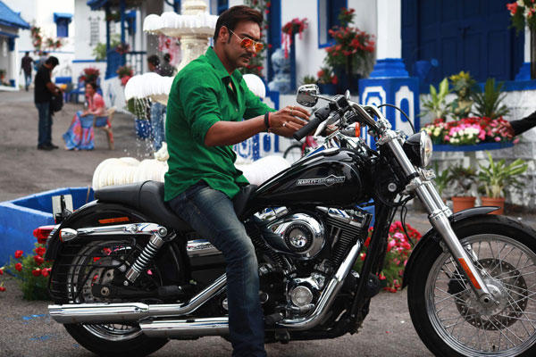 Ajay Devgan Attempted Different Stunts For Singham Returns