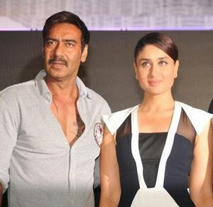 Ajay Devgan And Kareena At Singham Range Of POLICE Watches Launch Event