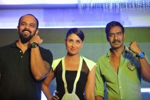 Team Singham Returns Captured At A Promotional Event