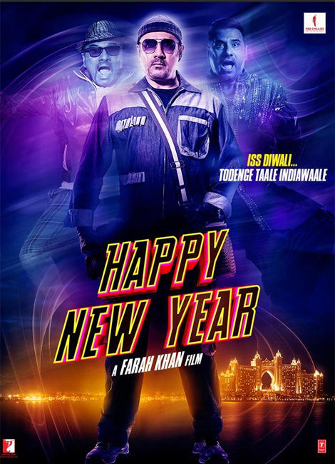 Boman Irani Happy New Year Posters Latest Still