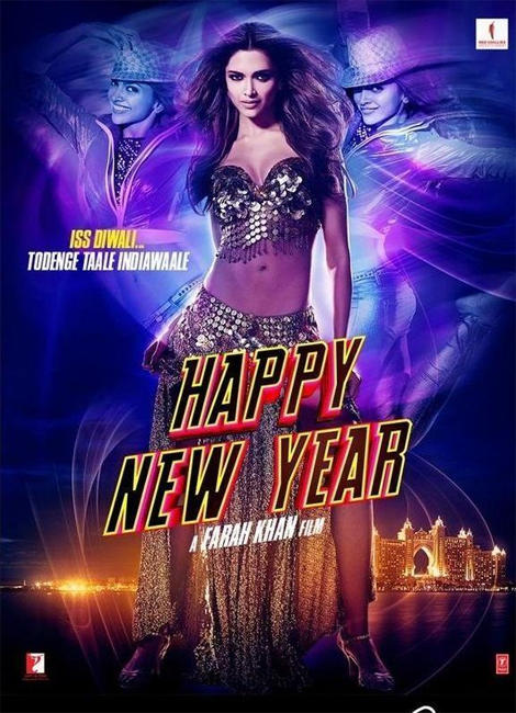 Deepika Padukone Rocks The New Movie Happy New Year Poster