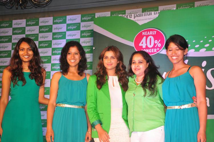 Parineeti Chopra Clicked During The Launch Of Touch The Pickle Campaign Of Whisper