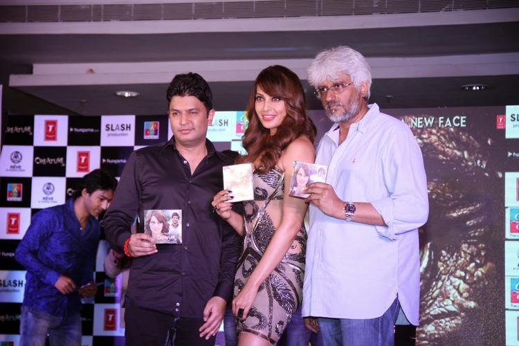 Bhushan Kumar,Bipasha Basu And Vikram Bhatt Launched Audio CD Of Creature 3D Movie