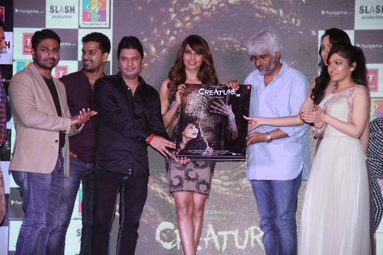 Mithoon,Bhushan,Bipasha,Vikram And Tulsi Launched The Creature 3D Movie Audio CD