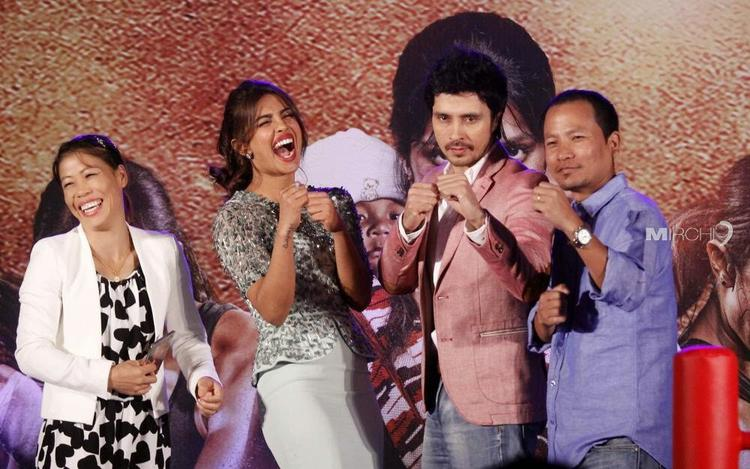 Mary Kom's Hubby K Onler Kom Gets Naughty At Audio Release Of Mary Kom