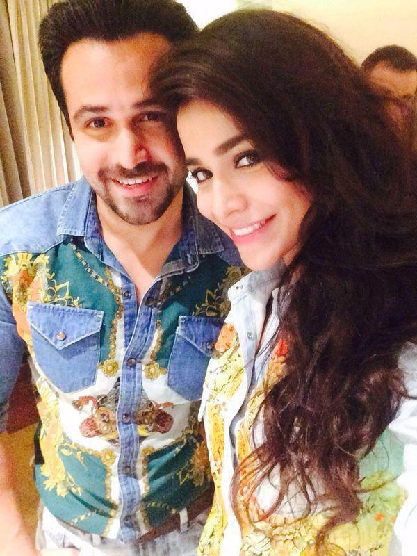 Emraan And Humaima Spotted At The Song Launch Of Raja Natwarlal