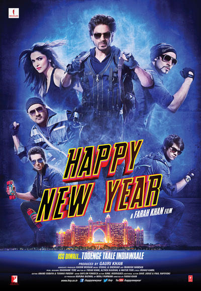 Bollywood New Movie Happy New Year First Look Poster
