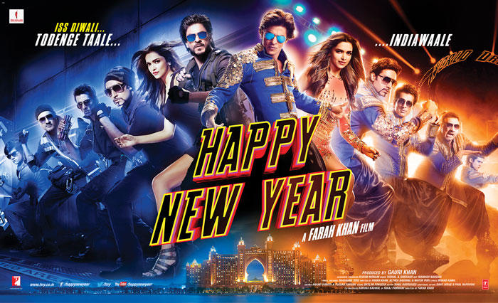Happy New Year Movie Star Cast Latest Poster