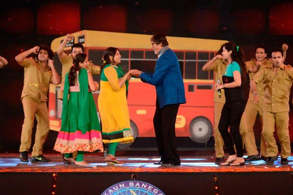 Amitabh Bachchan At Grand Premiere Kaun Banega Crorepati