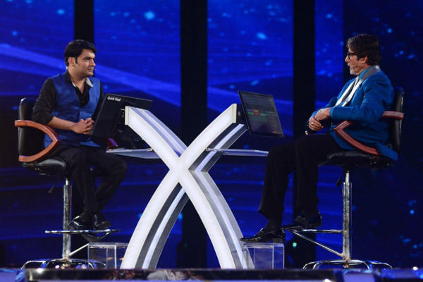 Comedy King Kapil On Hot Seat With Big B At KBC 2014 Grand Premiere