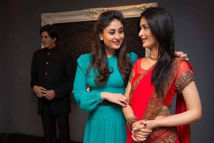 Kareena Kapoor Sweetly Looks Her Madame Tussauds At It's Event In London