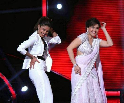 Priyanka And Madhuri Dance On Sets Of Jhalak Dikhhla Jaa 7 Stage