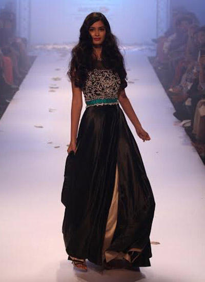 Diana Penty Showstopper For Rocky S During LFW Winter/Festive 2014