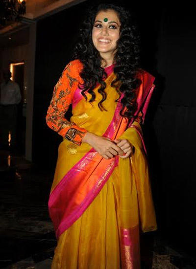 Taapsee Pannu Showstopper For Gaurang Shah Show At LFW Winter/Festive 2014