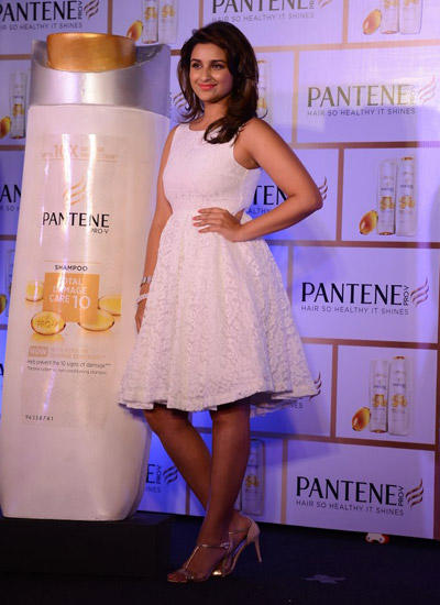 Parineeti Chopra At Pantene Promotional Event In Mumbai