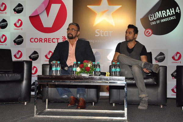 Kabir Bedi And Abhay Deol Graced At Channel V Panel Discussion
