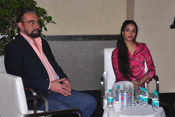 Kabir Bedi And Ira Trivedi Attend Channel V Panel Discussion