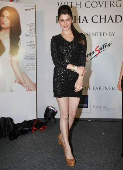 Kainaat Arora At The Launch Of Maxim Kamasutra Cover Issue