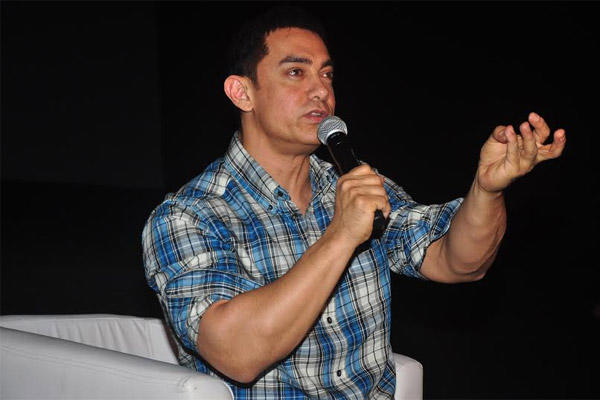 Aamir Khan Address The Media During The Launch Of Satyamev Jayate Season 3