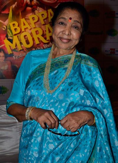 Asha Bhosle Graced Bappa Moraya Album Launch At IMFAA