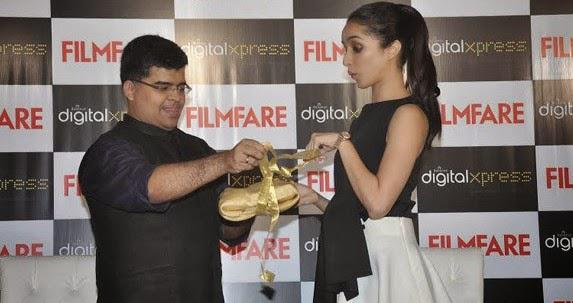 Shraddha Kapoor At The Filmfare Magazine Cover Launch Event