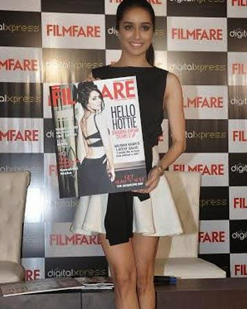 Shraddha Kapoor Launches The Latest Issue Of Filmfare Magazine