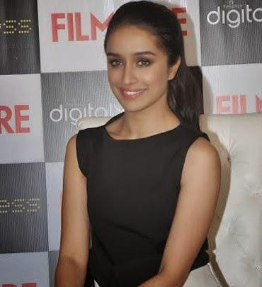 Shraddha Kapoor Smiling Look During The September Issue Cover Launch Of Filmfare Magazine