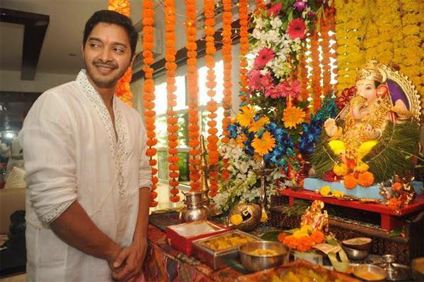 Shreyas Talpade Celebrated The Ganesh Chaturthi In Grand Style