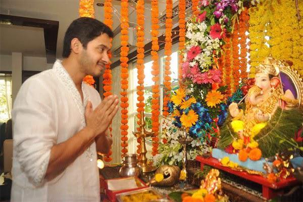 Shreyas Talpade Seeked Blessings From Lord Ganesha