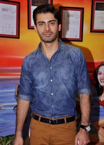 Fawad Afzal Khan Clicked During The Promotions Of Bollywood Movie Khoobsurat At Red FM Studios