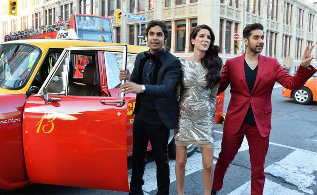 Isabel Kaif Attend Dr. Cabbie's Red Carpet Premiere With Other Stars