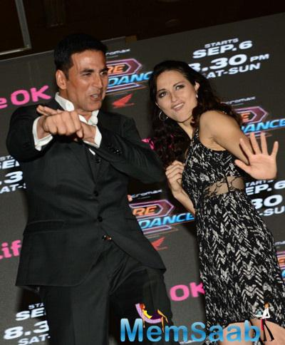 Akshay Kumar Hosted The Show At Dare 2 Dance Press Meet