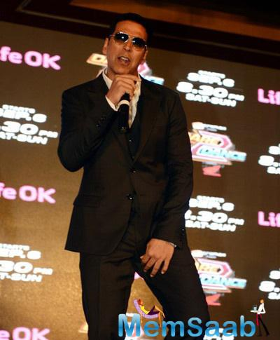 Akshay Kumar Launched His New Show Dare 2 Dance