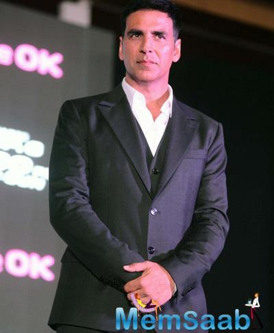 Akshay Kumar Looks Fresh And Dashing During The Dare 2 Dance Shutterbug