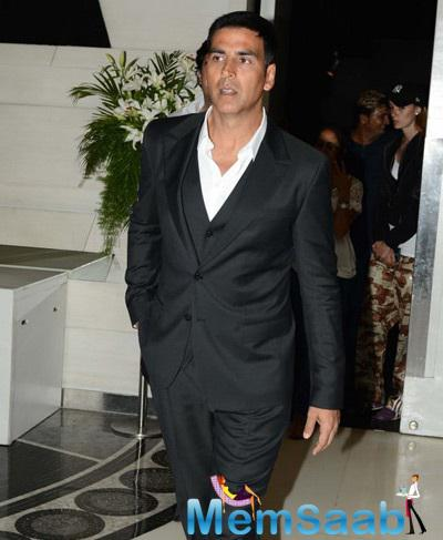 Dashing Akshay Kumar On The Sets Of Dare 2 Dance Press Meet