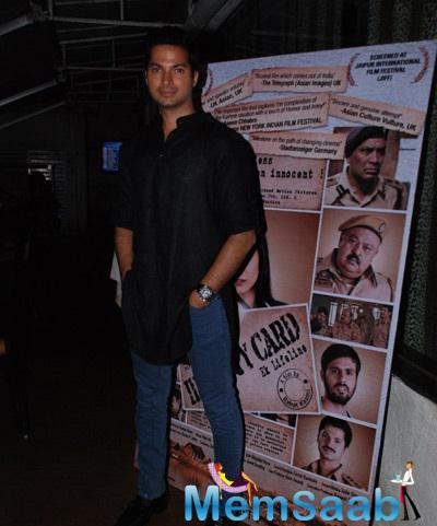Prashantt Guptha At Identity Card Movie Post Release Bash