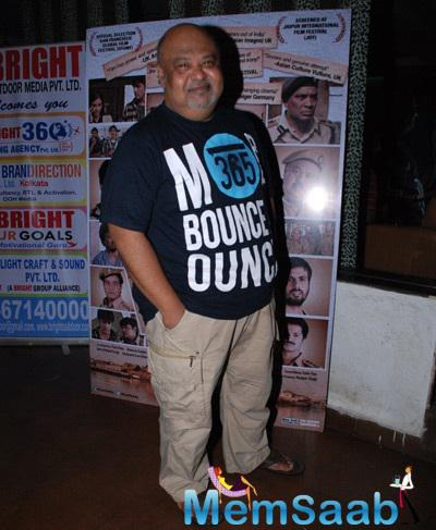 Saurabh Shukla Snapped At Identity Card Film Post Release Bash