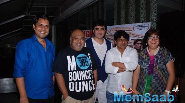 Star Cast Pose During The Identity Card Film Post Release Bash