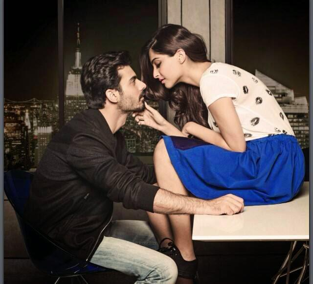Sonam And Fawad Romance On The Page Of The Filmfare Magazine