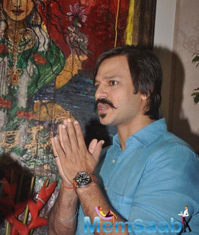 Vivek Oberoi Gives Interview For Blood Donation Drive