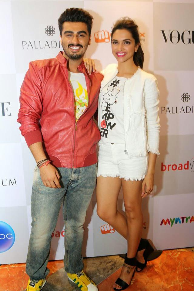 Deepika And Arjun Shook Their Bootiya At Vogue Fashion's Night Out 2014