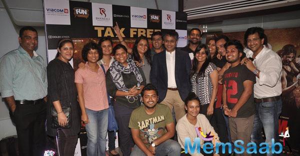 Bollywood Celebs At Mary Kom Screening