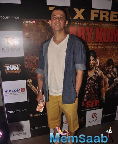 Kabir Sadanand Also Arrived To Watch Mary Kom Movie