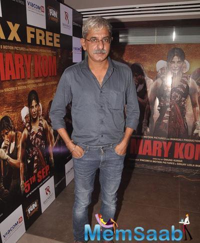 Sriram Raghavan Made A Solo Appearance At Mary Kom Movie Screening