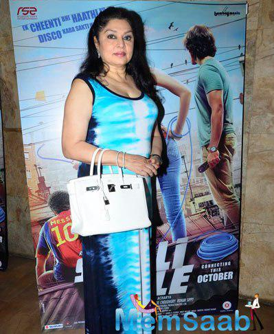 Kiran Juneja Stunning Look In A Gown During The Trailer Launch Of Sonali Cable