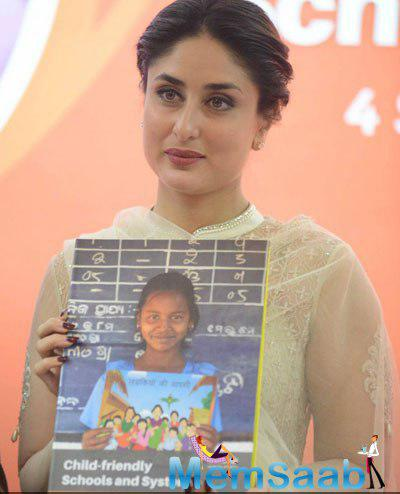 Kareena Kapoor Khan Launches UNICEF Child-Friendly Schools And Systems Package