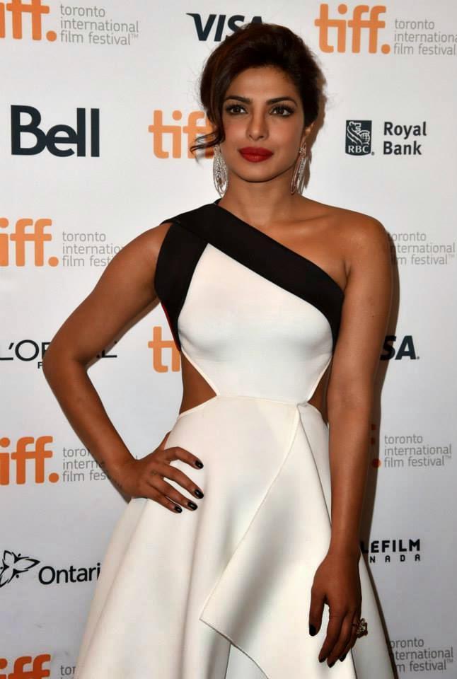 Priyanka Walks The Red Carpet On The Opening Night Of TIFF