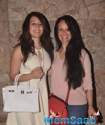 Krishna With Mom Ayesha Shroff Attend Brother Tiger's Video Launch Event